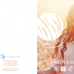 Catálogo cosmética Earth Line