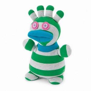 Muñeco calcetín para microondas – Boo