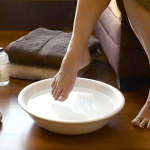 Baño pies principal