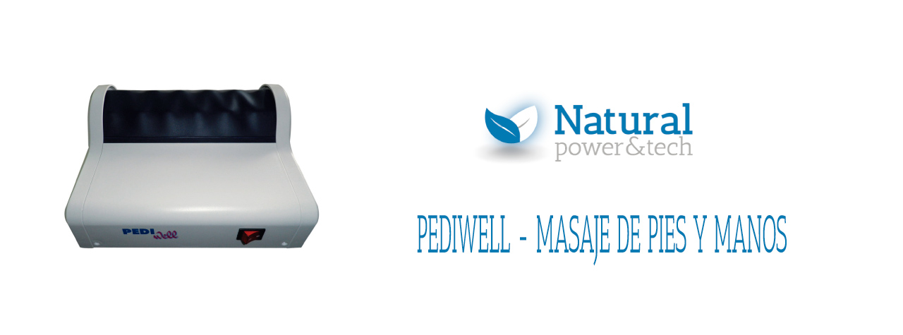 Reflexología podal para pies y manos - Pediwell