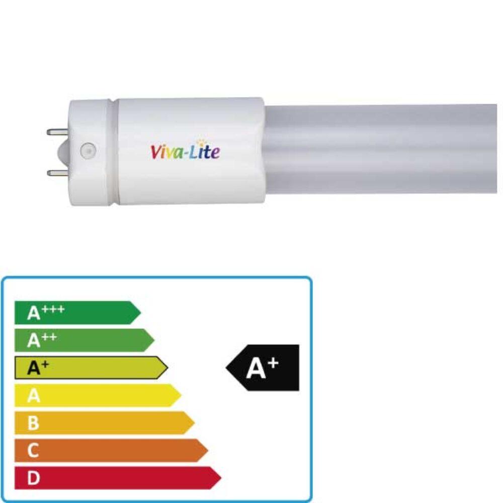 fluorescente led viva-lite t8