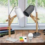 Lámpara escritorio con bombilla LED E27 12W Viva-Lite
