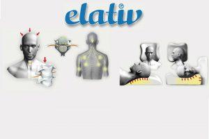 Almohada Elativ para aliviar la tensión en cuello y hombros