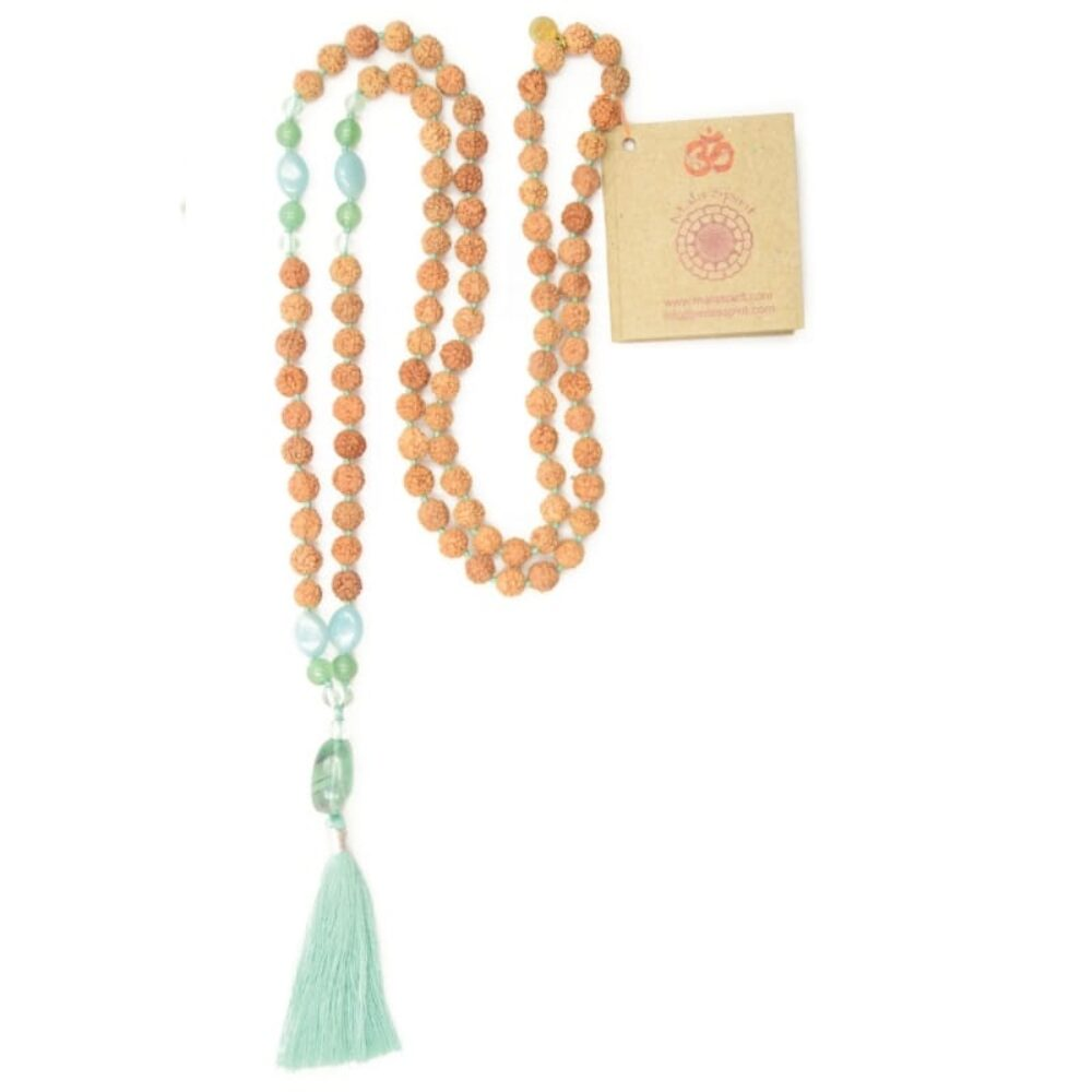 Collar Green Spirit Mala - 1