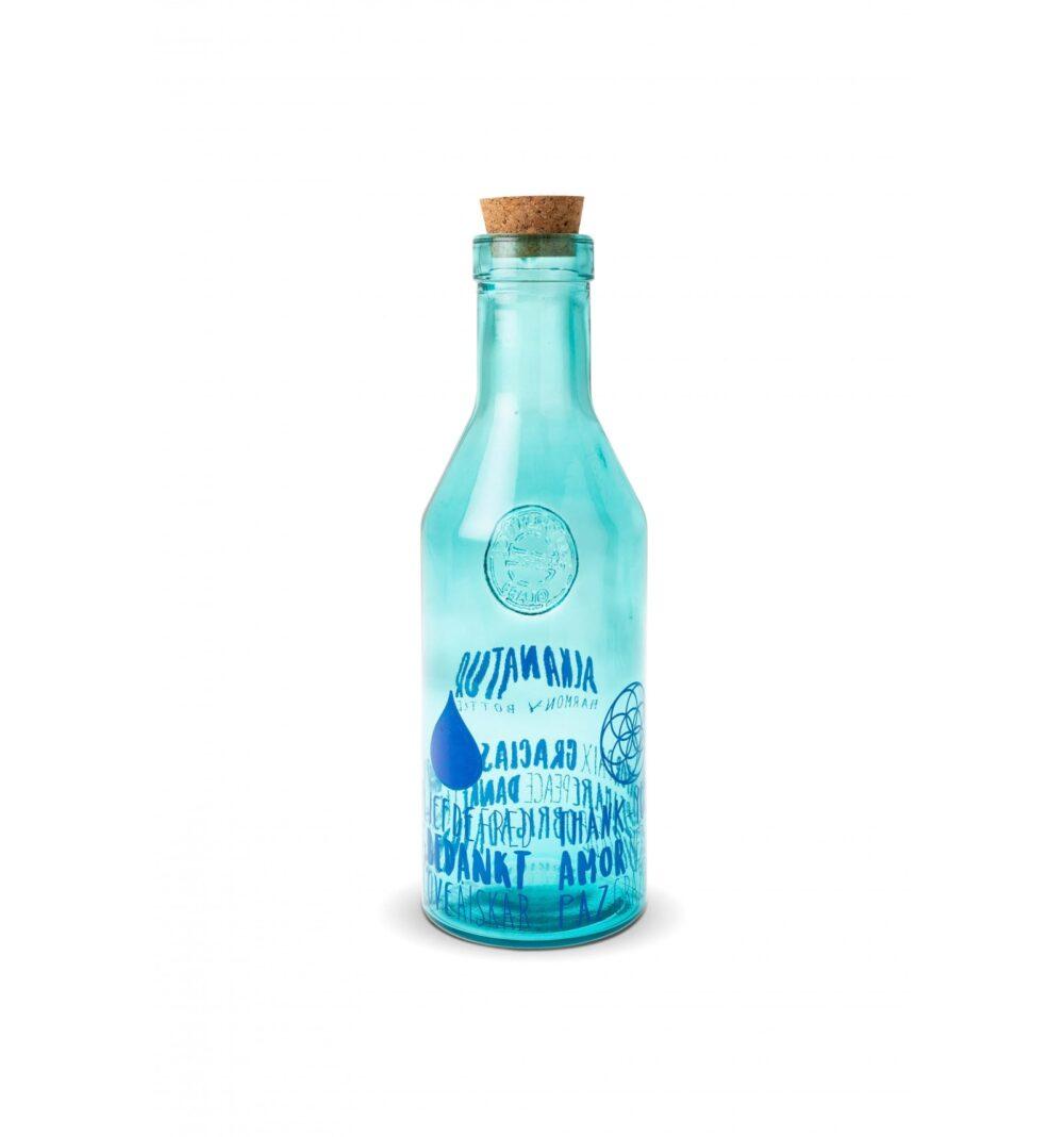 Botella 100% cristal reciclado Harmony Water 3